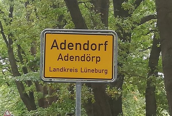 Ortsschild-Adendorf